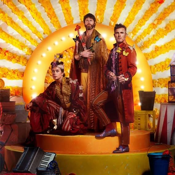 Take That představují singlovou ochutnávku Giants!