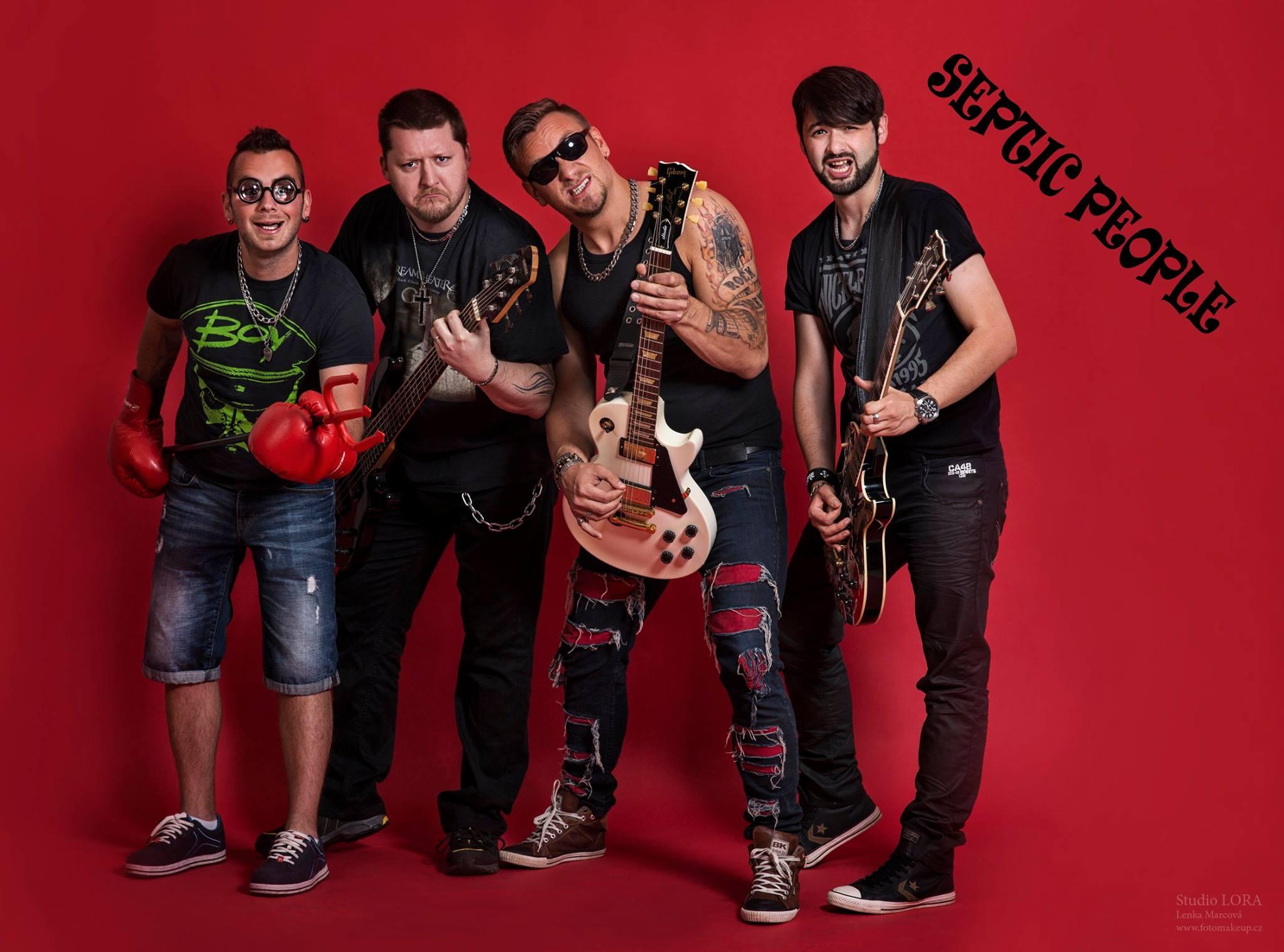 Septic People oslavují sedm let kapely albem 7 Let v Bidetu!