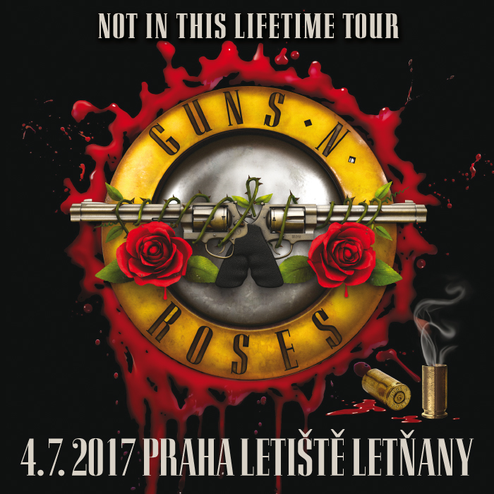 GUNS N' ROSES – NOT IN THIS LIFETIME TOUR 2017
