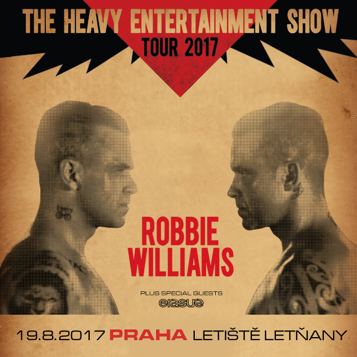Robbie Williams tento týden v Praze!