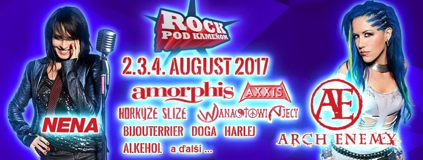 FESTIVALOM ROCK POD KAMEŇOM 2017 TO BUDE JUBILEJNÁ HUDOBNÁ PESTROSŤ