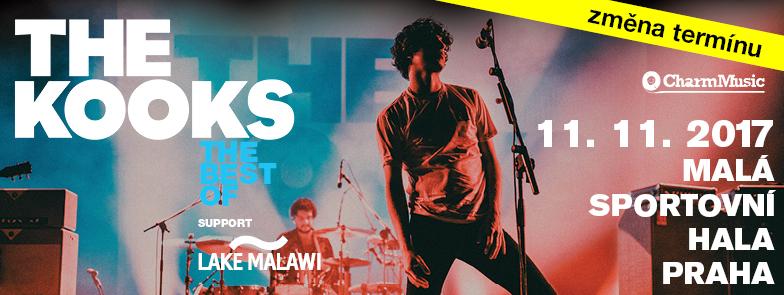 Změna termínu: The Kooks zahrají v Praze 11. listopadu!