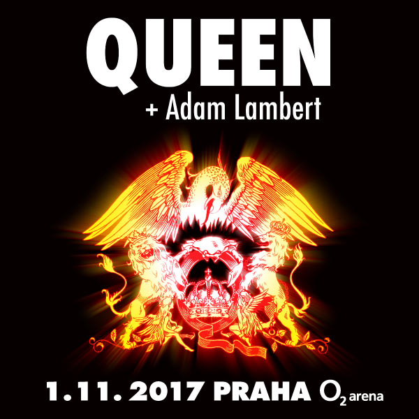 QUEEN s Adamem Lambertem odehrají v ČR jediný koncert!