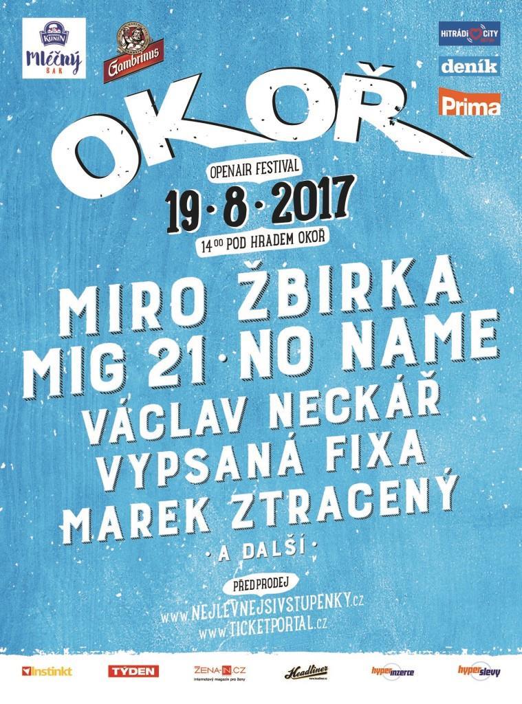 """MIRO ŽBIRKA se těší na FESTIVAL OKOŘ. """"Hrál bych tady pořád,"""" říká."""