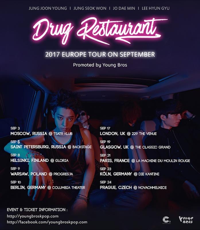 Do Prahy se chystají Drug Restaurant z Jižní Koreje!