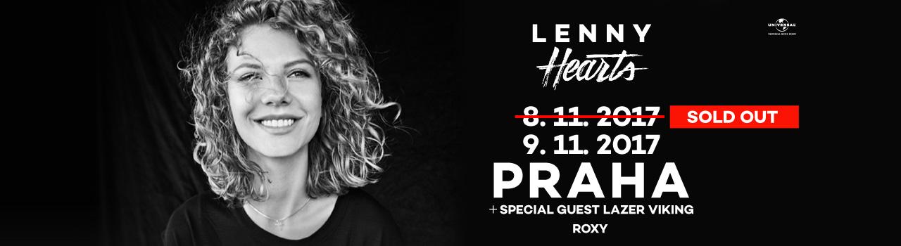 Lenny pro velký zájem přidala druhý koncert v pražském Roxy!