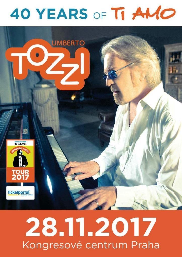 Italský zpěvák Umberto Tozzi přijede poprvé do Prahy!