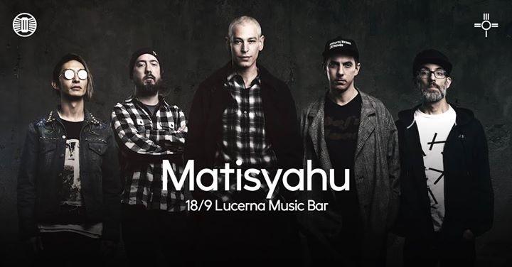 Matisyahu je další jméno, které obohatí program Lucerna Music Baru!