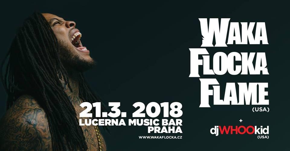 Americký rapper Waka Flocka Flame se chystá v březnu do Prahy