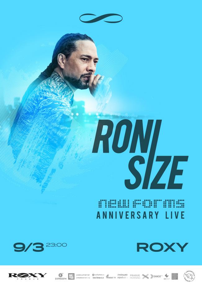 DnB legenda Roni Size oživí v ROXY New Forms Live!