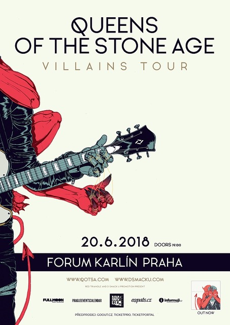 Queens Of The Stone Age včervnu přijedou do Prahy