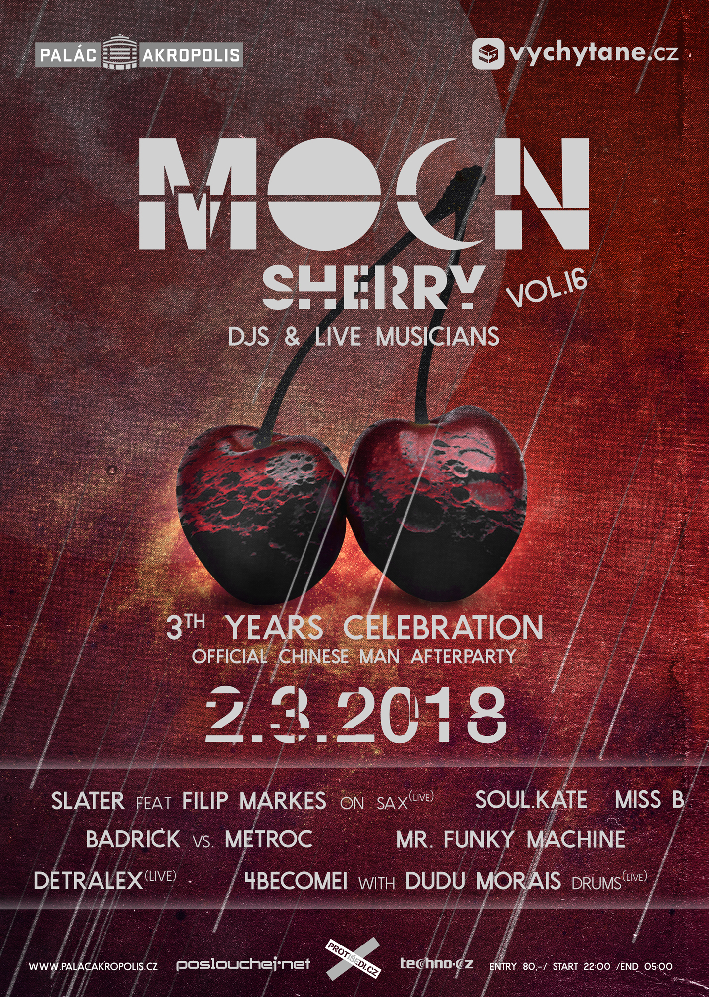 MoOn:Sherry 3th years celebration