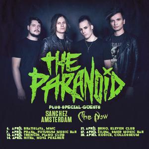 Skupina The Paranoid dnes startuje turné!