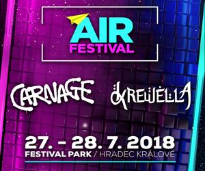 Soutěž o 2×2 vstupenky na AIR festival! (UKONČENO)