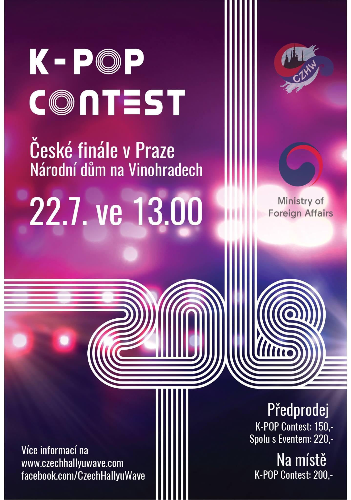 České finále celosvětové k-pop talentové soutěže v Praze již tuto neděli!