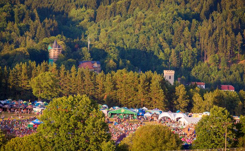 Festival Hrady CZ se tento pátek a sobotu představí na Rožmberku nad Vltavou