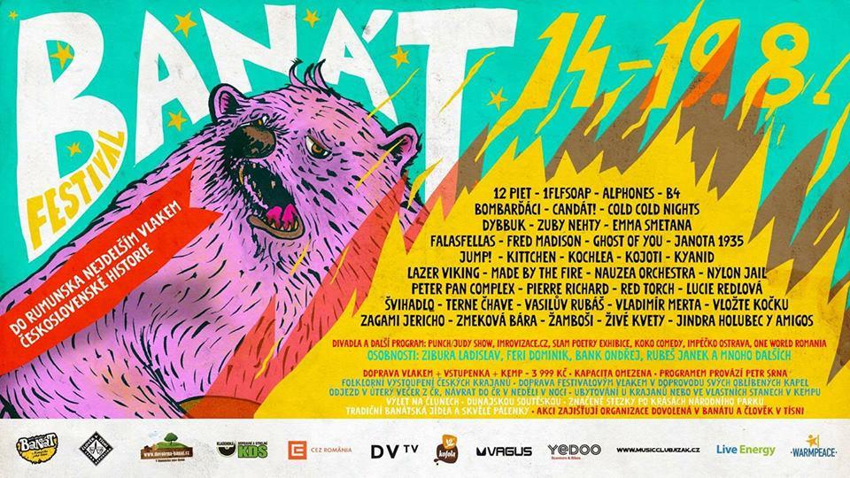 Nejdelším vlakem československé historie do Rumunska na festival Banát