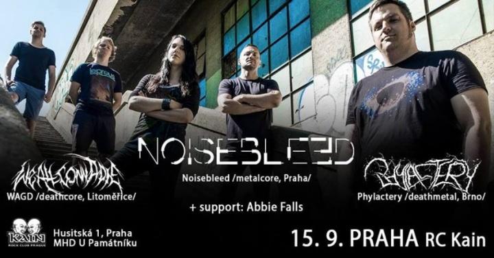 Rozhovor: Noisebleed pokřtí svoje nové album a rozjedou podzimní tour