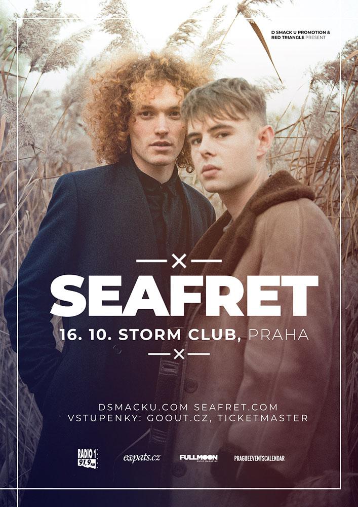 Britské duo Seafret se vrátí po roce a půl do ČR