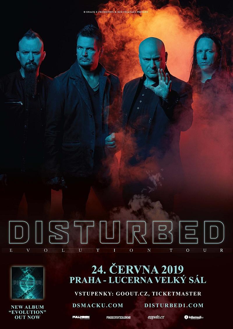 Velkou Lucernu v červnu rozžhaví metaloví Disturbed!