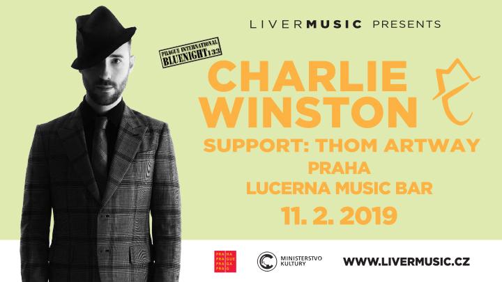 Charlie Winston oznamuje hudebního hosta svého koncertu 11. února v pražském Lucerna Music Baru.