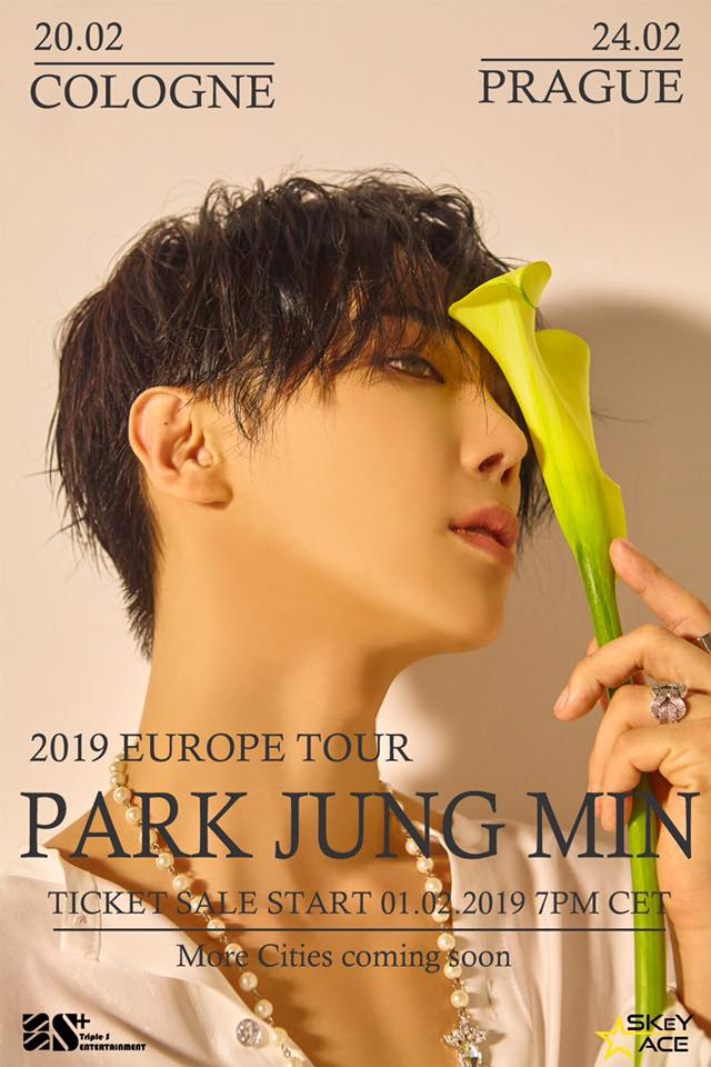 Park Jung Min z Jižní Koreje zavítá do Prahy!