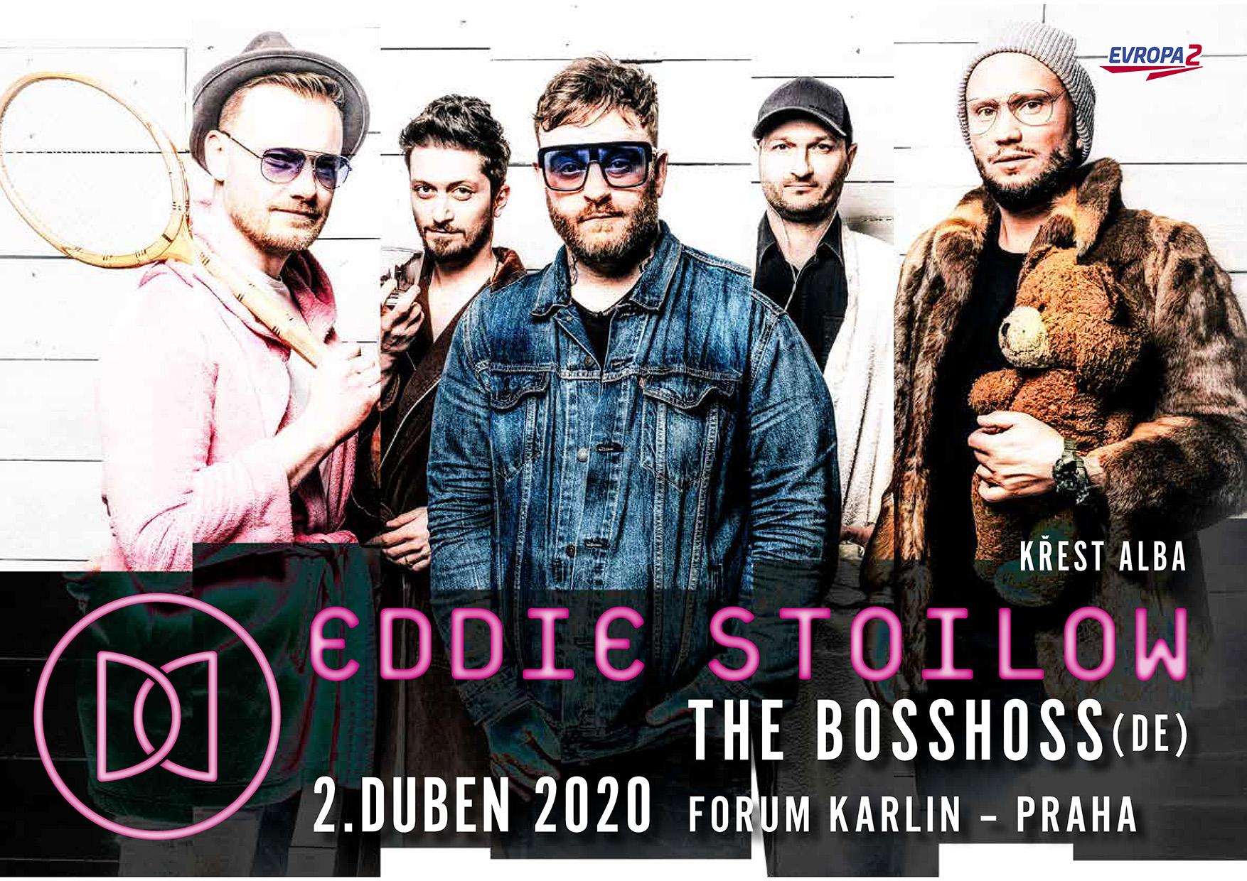 Eddie Stoilow cílí na Fórum Karlín.!