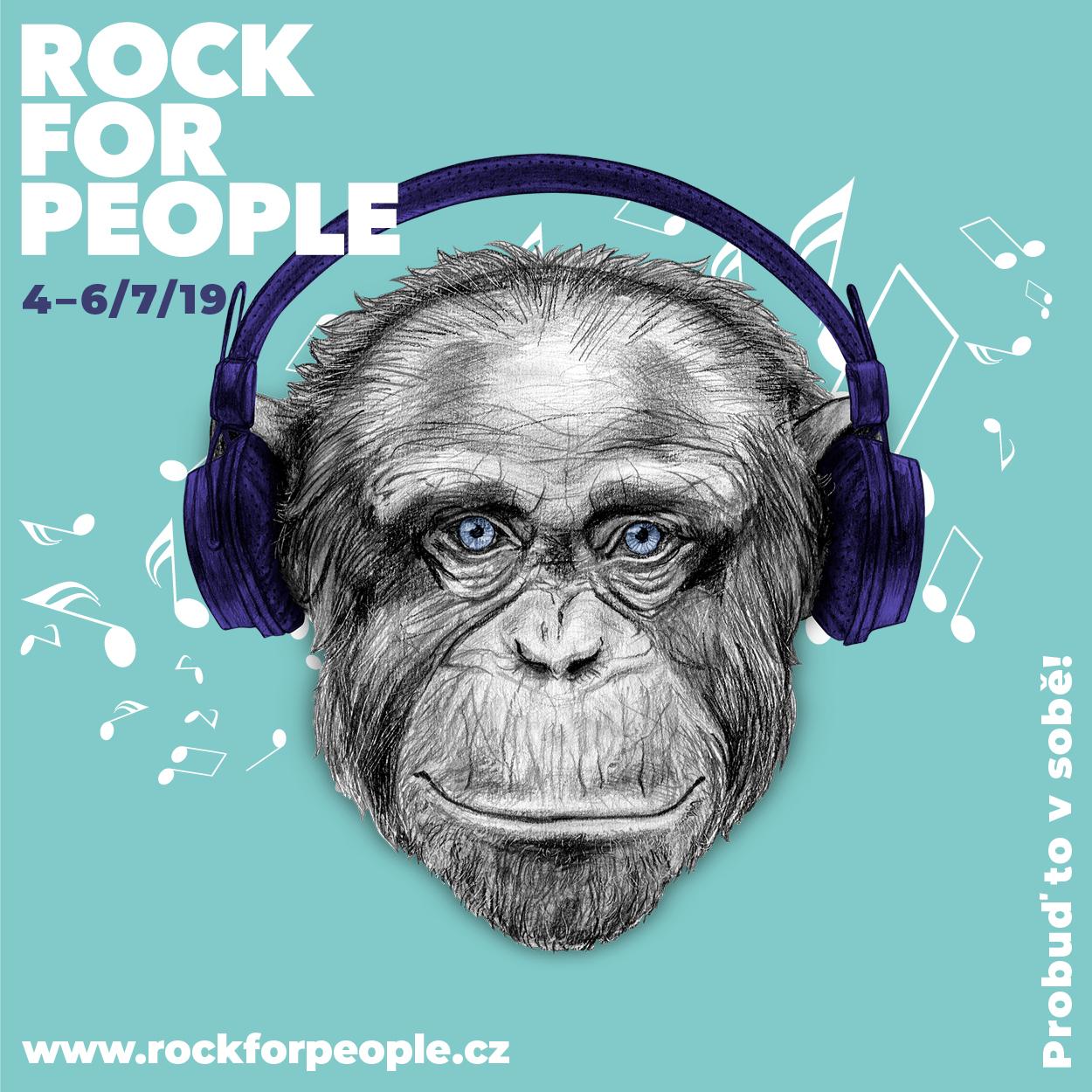 Mega party na oslavu čtvrtstoletí. Takový bude letos Rock for People!
