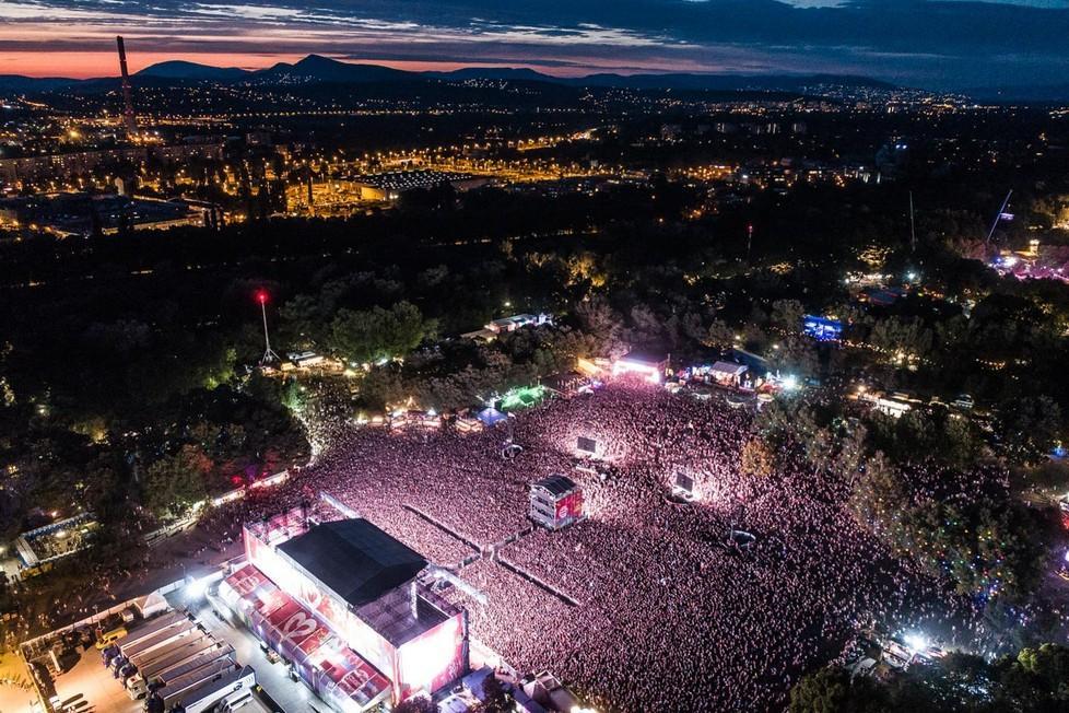 Začíná Sziget, největší festival léta!