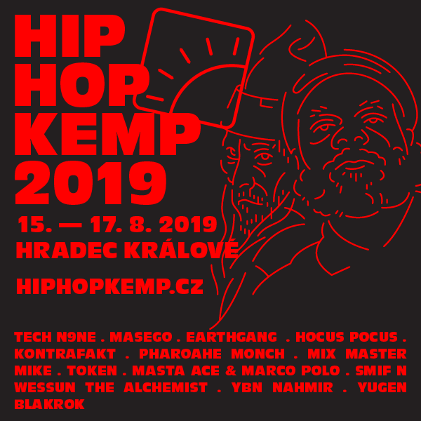 Na Hip Hop Kemp dorazí vedle Tech N9ne, Masega nebo Tokena i Freddie Gibbs!