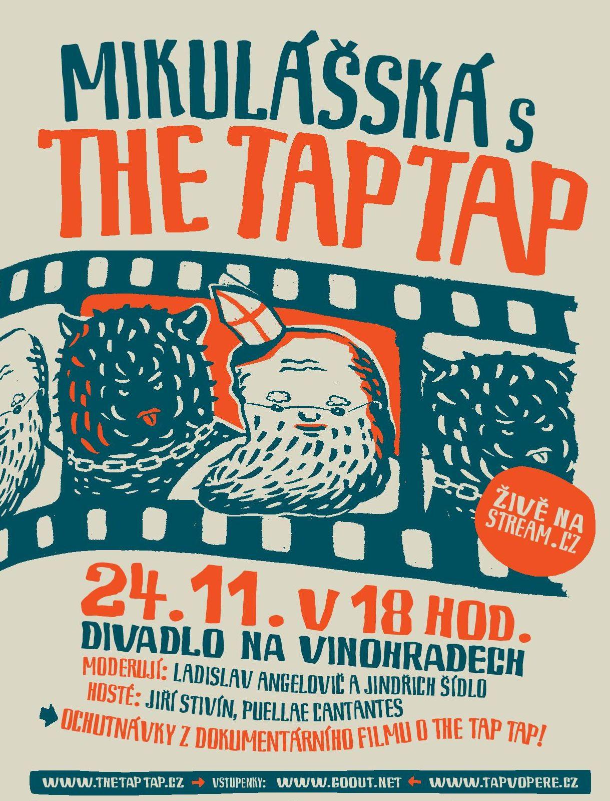 The Tap Tap zvou na letošní Mikulášskou