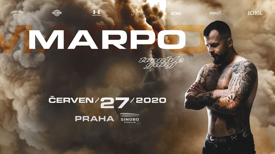 Marpo & Troublegang vystoupí příští rok na stadionu Eden!