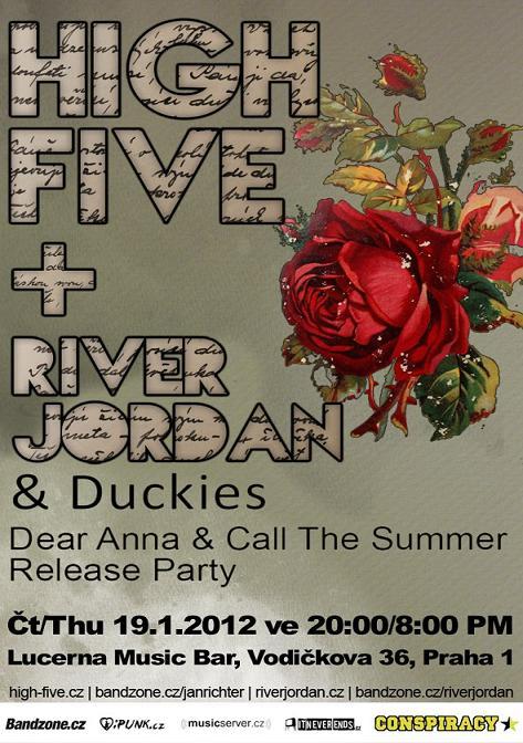 High Five & River Jordan: Křest nových alb a společné turné!