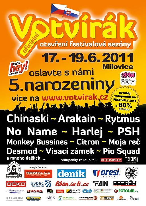 Festival Votvírák – Svátek české a slovenské hudby!