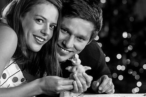 Krásná Andrea Kerestešová rozkvetla ve vánočním videoklipu zpěváka Pavla Callty!