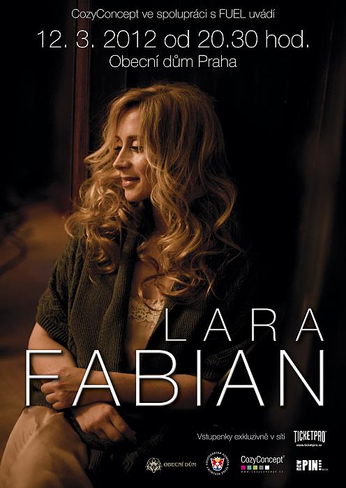 Jediný koncert zpěvačky Lary Fabian je beznadějně vyprodán!