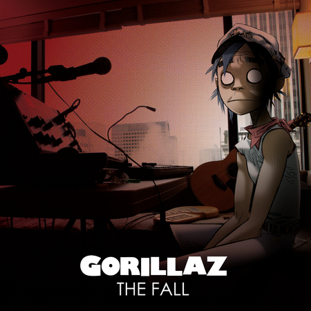 GORILLAZ – kolekce The Fall!