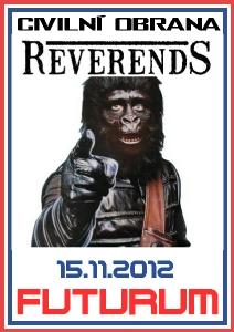 Ve Futuru zahrají Reverends a Civilní Obrana!