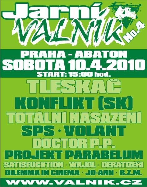 JARNÍ VALNÍK No. 4!