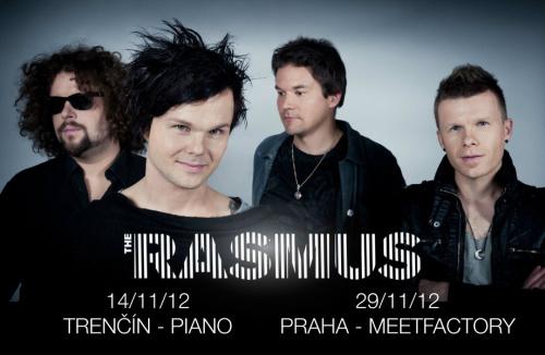 THE RASMUS se vrací do Prahy!!!