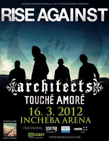 Praha se může začít těšit na koncert RISE AGAINST!