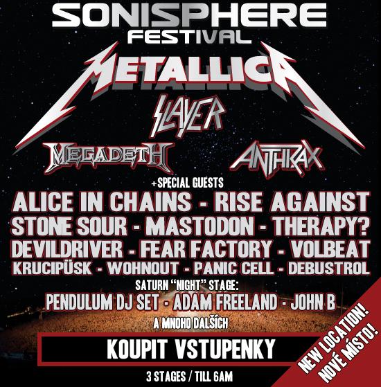 Sonisphere! 30.000 prodaných lístků
