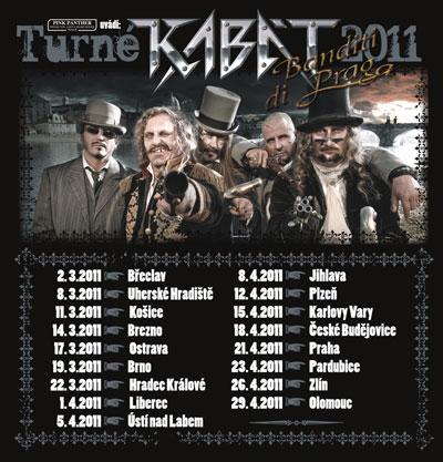 Kabát: nový videoklip a Banditi di Praga Tour 2011!