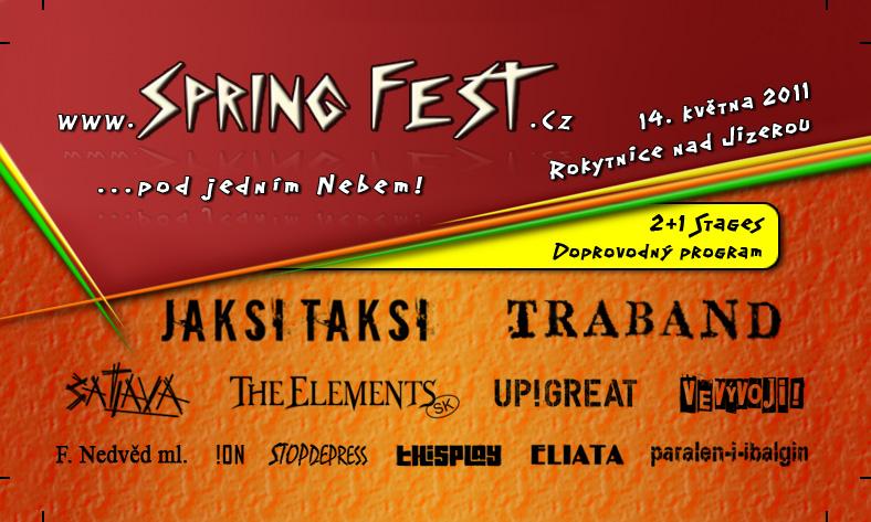 SpringFest … pod jedním nebem! (TZ)