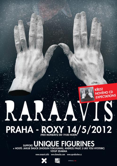 Rara Avis zvou na křest nového alba!