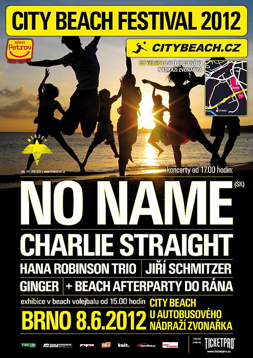 CITYBEACH festival s No Name, Charlie Straight a dalšími již za měsíc v Brně!