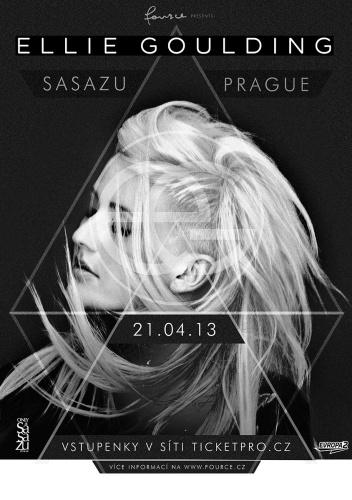 Ellie Goulding se příští rok představí v Praze!