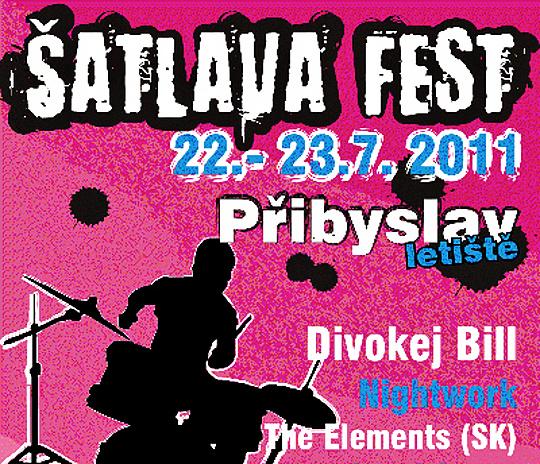 ŠATLAVA FEST 2011 představí i přední české kapely!