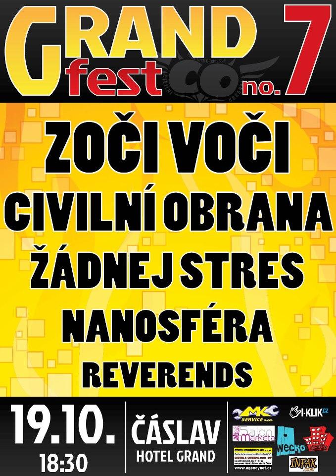 Čáslavský GRANDFEST již za 10 dní!