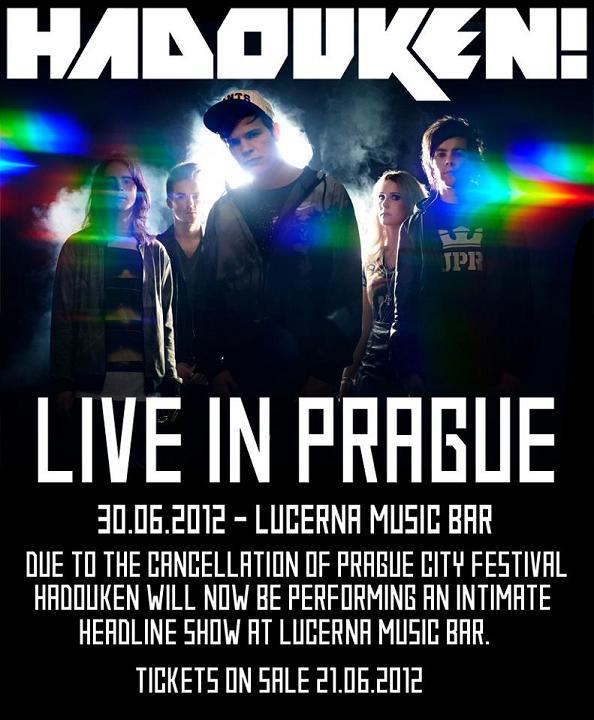 Fanoušci se i přes krach PCF mohou těšit na pražský koncert Hadouken, se vstupenkou na Rock for People dokonce jen za dvěstovky!